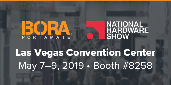 Bora Tool to Exhibit at 2019 National Hardware Show — Booth